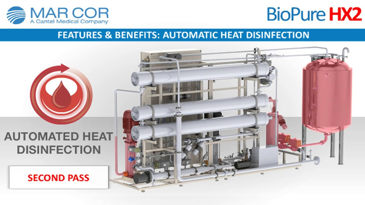 BioPure HX2 Double Pass Dialysis Water Purification System