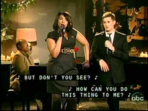 Michael Buble und Jennifer Hudson - Christmas duets - Baby it's cold outside and Let it snow