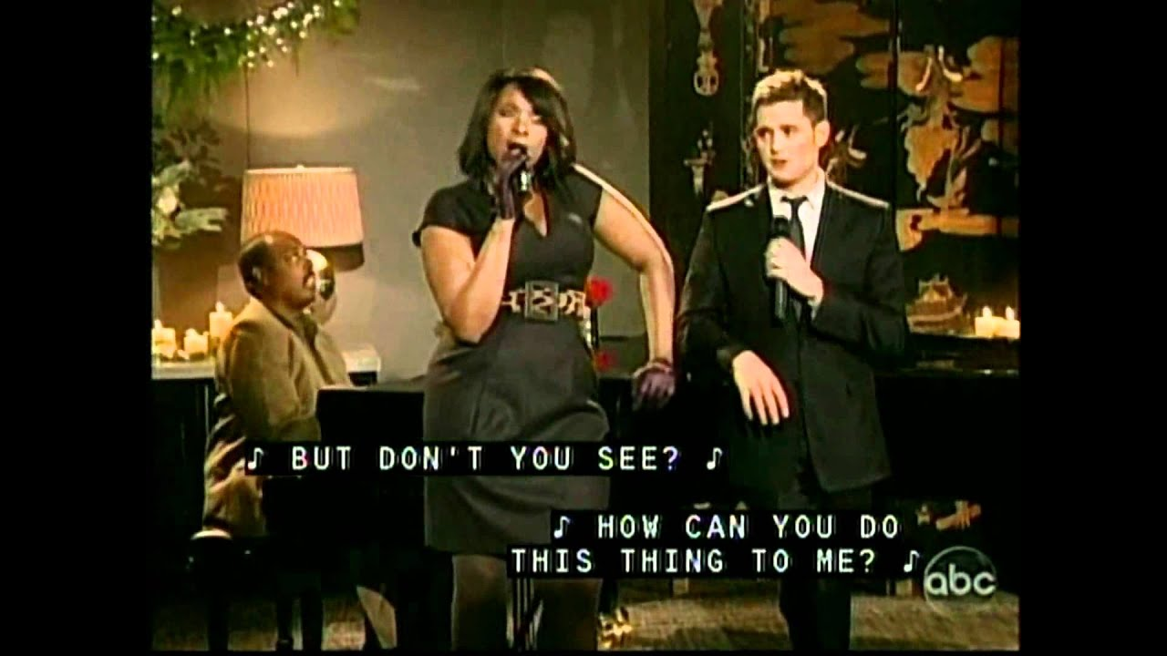 Michael Buble und Jennifer Hudson - Christmas duets - Baby it's cold outside and Let it snow ...