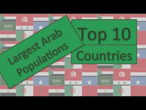 Top 10 Largest Arab Populations
