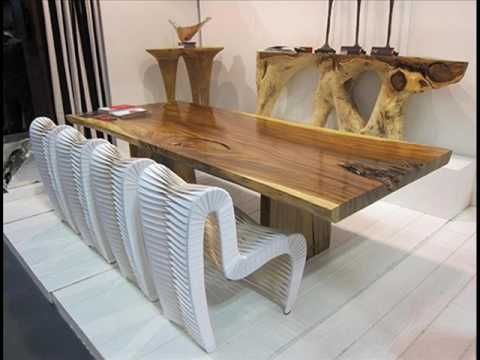 Solid Wood Dining Table Bases