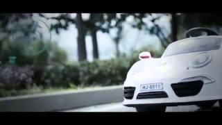 Детский электромобиль Porsche 911 Turbo: 7км/ч, 12V, пульт, сенсор - raspashonka.com.ua