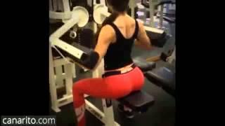 Sexy Jen Selter fitness motivation instagram famosa ejercicios entrenamiento gimnasio yoga trasero