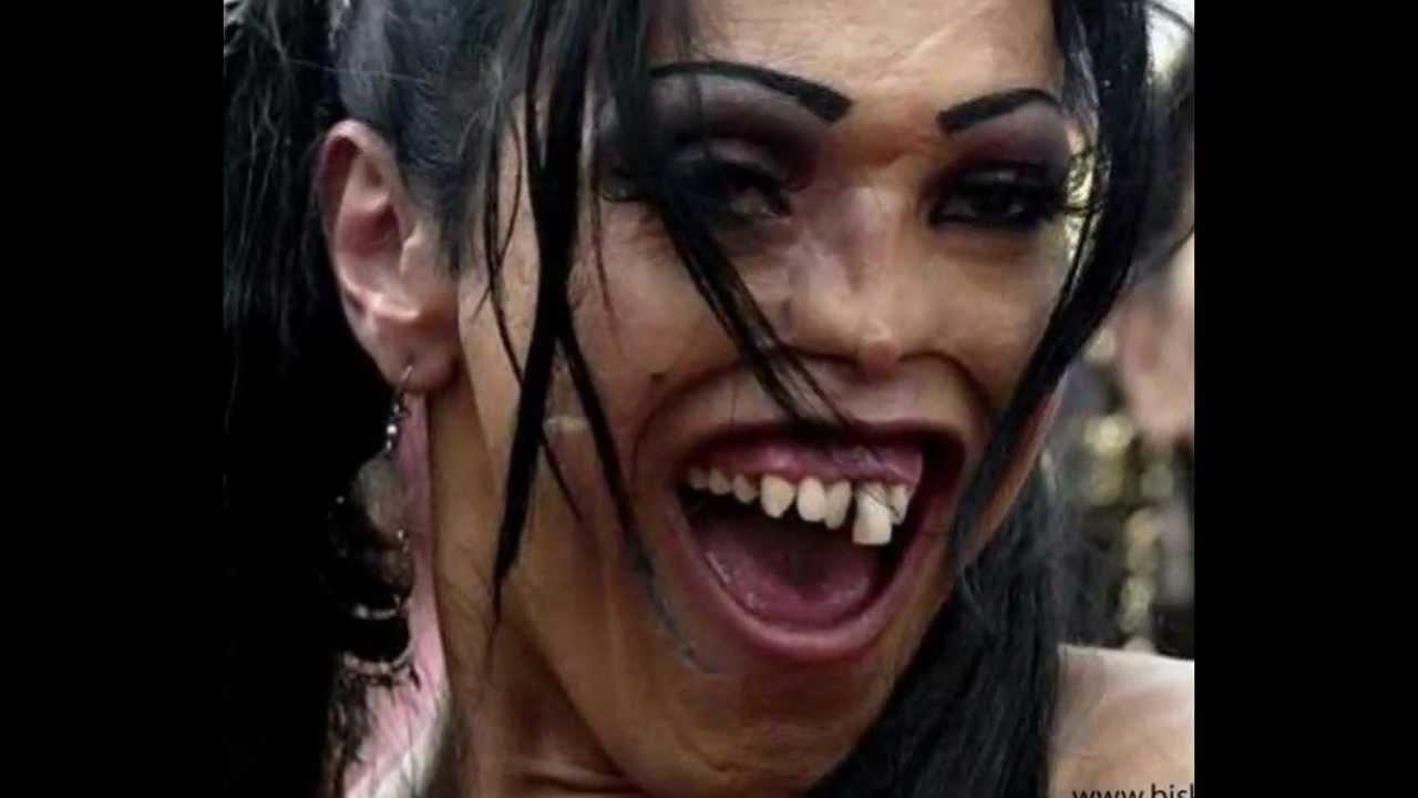 Ужасные фотографии девушек