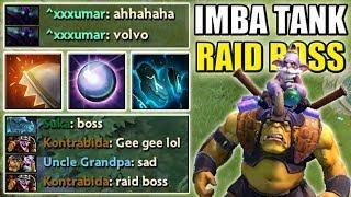 Imbalanced Passive Raid Boss Alchemist [Reactive Armor + Dispersion] Dota 2 Ability Draft