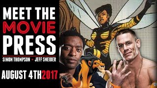 Chiwetel Ejiofor as Scar, John Cena Bumblebee film? & More - Meet the Movie Press