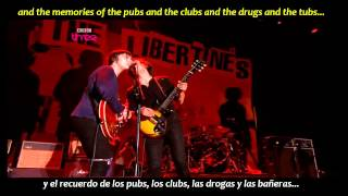The Libertines - Music when the lights go out (inglés y español)