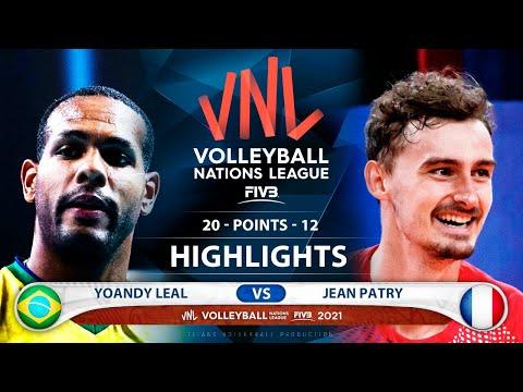 Download Brazil vs France | VNL 2021 | Semifinal | Highlights | Yoandy Leal vs Jean Patry