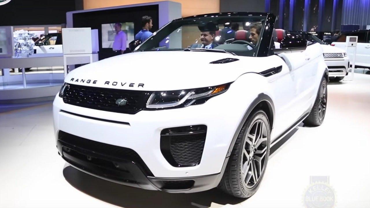 2017 Range Rover Evoque Convertible La Auto Show