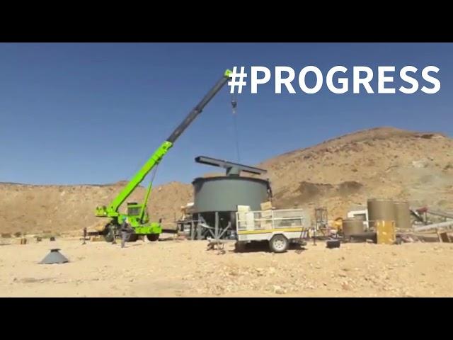 Product Thickener Tank Progress April 23
