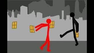 Ресуем мультфильмы 2 драка стикманов