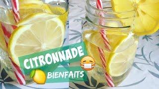 Citronnade (Recette+bienfaits) - Recette simple et rapide (Cookwithso)