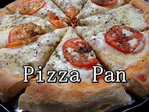 """Pizza Pan Massa bem fofinha """"TIPO"""" pizza Hut (por Fernando Couto)"""