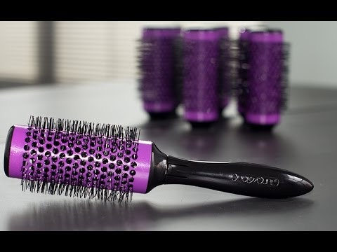 Click n Curl - Detachable Round Brush Roller Set