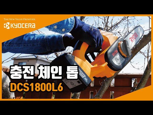 충전 체인 톱 (DCS1800L6)