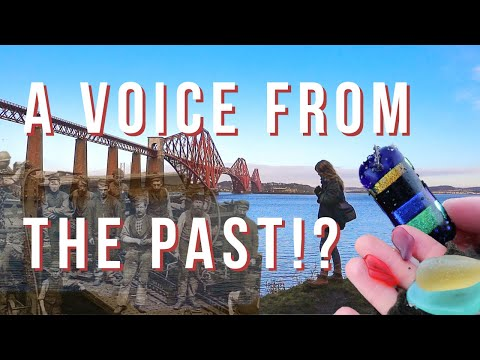 Mudlarking Under The Iconic Forth Bridge. Have We Captured A Ghostly Voice From The Past?!