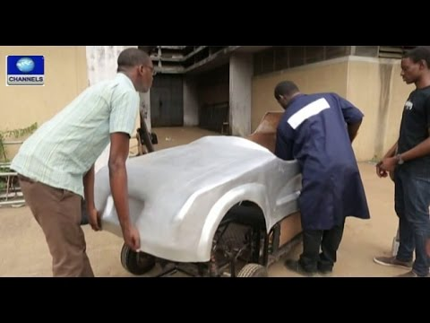 tech-trends:-nigerian-students-build-electric-powered-car----30/11/15-pt-1
