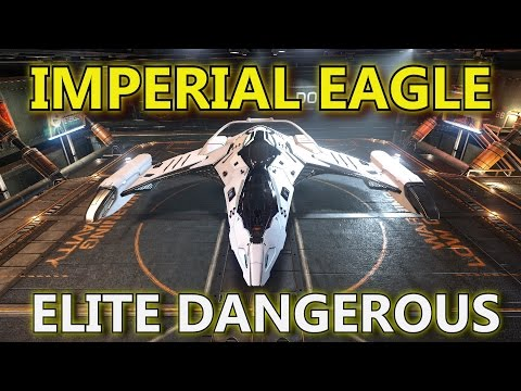 Elite: Dangerous - The Imperial Eagle - Epic First Impression.
