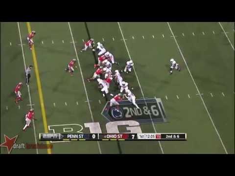 #64 John Urschel, RG, Penn State vs Ohio State