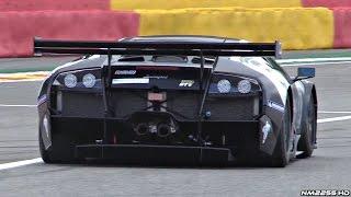 Lamborghini Murcielago 670 R-SV GT1 Orgasmic V12 SOUND @ Track!!