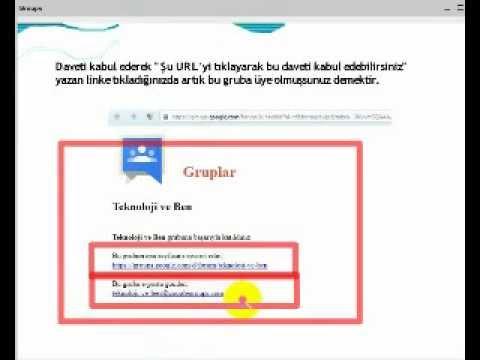 Google Groups Eğitimi