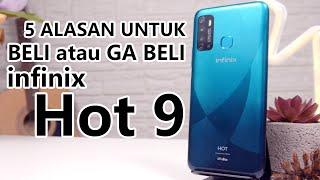 5 Alasan Beli dan Ga Beli Infinix Hot 9! Test Kamera, Antutu & Gaming PUBG, CoD & Mobile Legend.