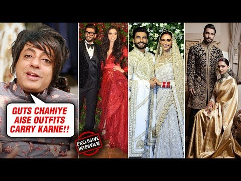 Ranveer Singh Deepika Padukone Royal Wedding Looks  Rohit Verma REVIEWS  Exclusive