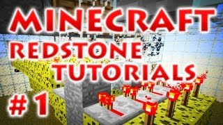 Redstone Tutorial - Часть 1 -