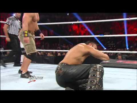 John Cena, Ryback & Sheamus vs. 3MB: Raw, Feb. 11, 2013