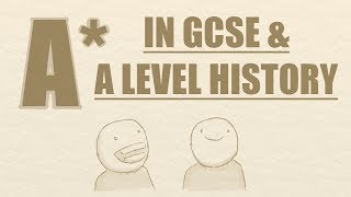 getting an a 8 9 in history gcse a level