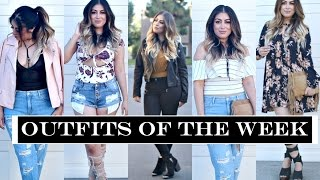 Outfits of the Week Summer 2016 Outfit Ideas