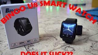 bingo u8 smart watch worth it unboxing review