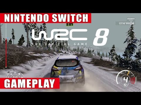 WRC 8 Nintendo Switch Gameplay