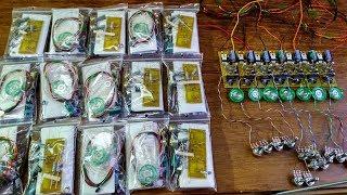 20 металлодетекторов по 4$ распаковка, тест и обзор.