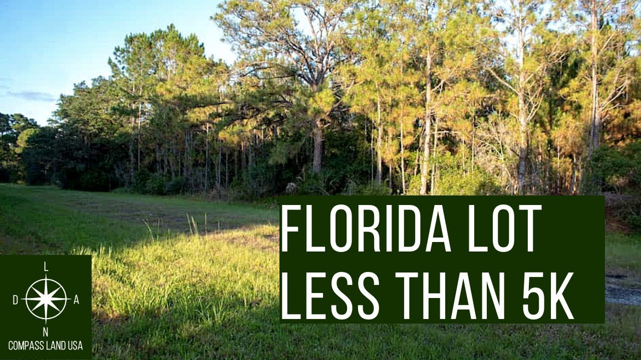 Sold by Compass Land USA - Florida Lot Less than 5K
