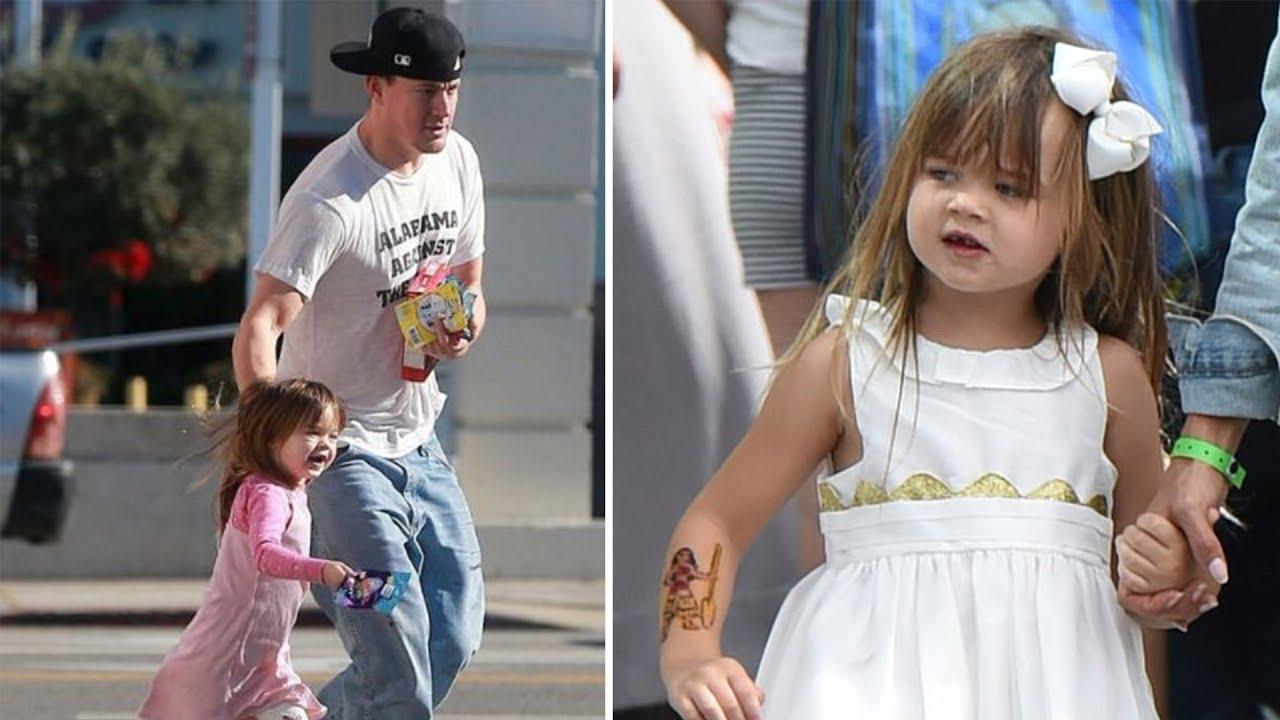 Channing Tatum & J... Channing Tatum Daughter