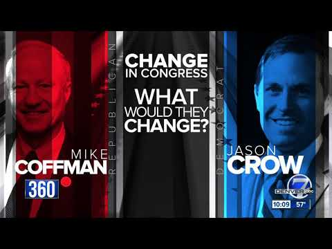 Politics 360: Mike Coffman and Jason Crow on why they will best represent Colorado's CD6