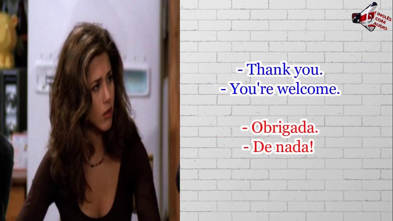 Aprenda inglês com seriado Friends - inglês com series S01E01