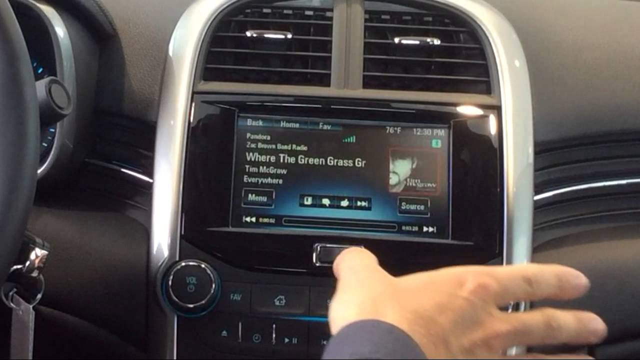 George Weber Chevrolet >> How To Use Pandora And Stitcher Apps In 2015 Chevrolet ...