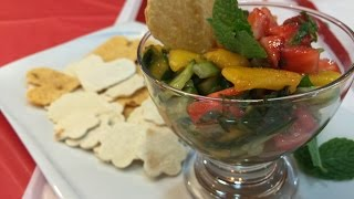 Super Healthy And Delicious Fruit Salsa