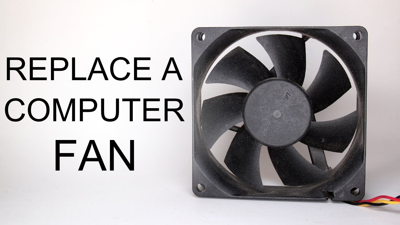how to turn on computer fans