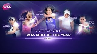 2016 wta shot of the year   group a
