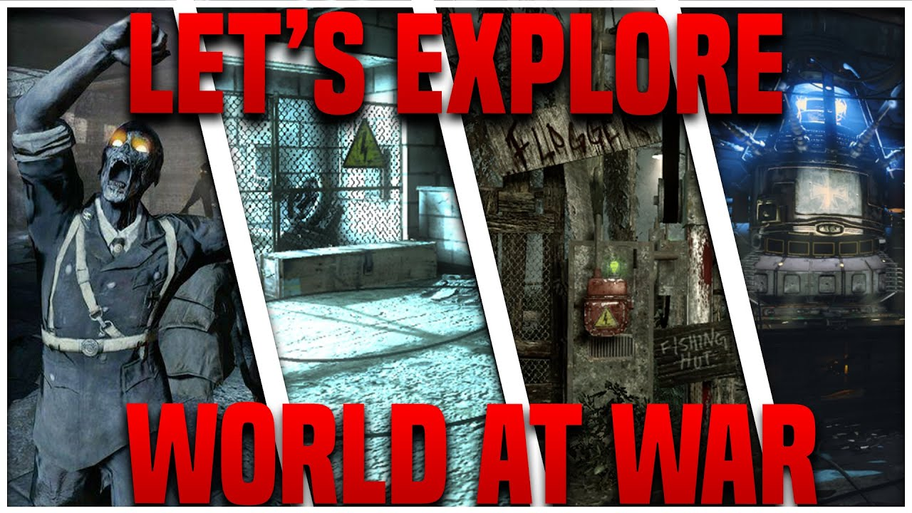 No Clipping through all World at War Zombie Maps - YouTube