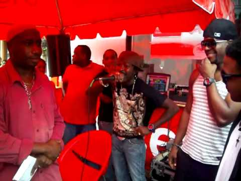 Ryno & Voicemail at Digicel Promotion in Dominica