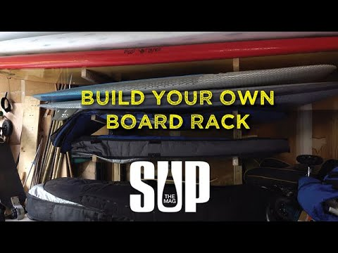 Build Your Own Board Rack