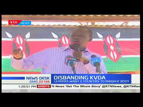 North Rift region governors demand the disbanding of Kerio Valley Development Authority (KVDA)