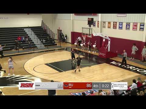 WBB - University of Northwestern Ohio vs. Rochester University