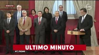 Chilevisión - EXTRA - Cambio de Gabinete
