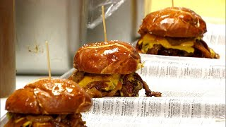 Does This Burger Really Help You Give Birth?