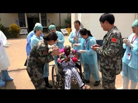 80 Year Old Ebola Patient Recovers Under Help of Chinese Medical Team
